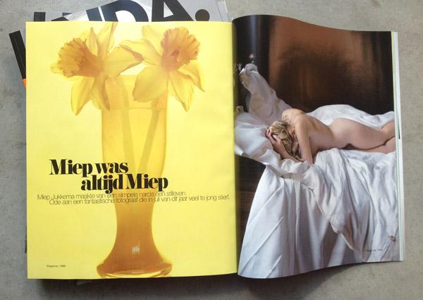 Hommage aan Miep Jukkema in LINDA.mode, najaar 2012